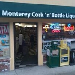 Monterey Cork N' Bottle Liquors logo