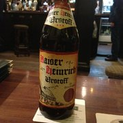 Old style German Urstoff beer. CAMRA winner.