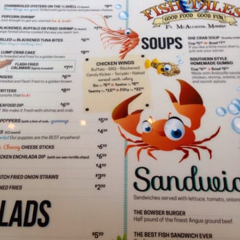 Fish tales 27 photos 45 reviews seafood 3203 fort for Fish tales menu