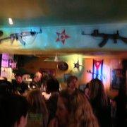 The bar inside Cubana - how can you not…