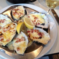 Oysters Thermidor