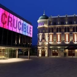 Crucible Theatre, Sheffield, South Yorkshire, UK