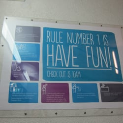 Have Fun sign