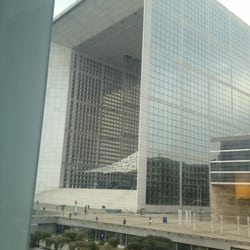 View of arche de la defence from room