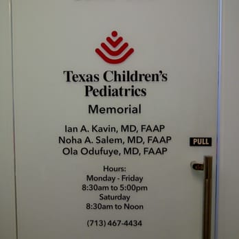 Texas Children's Pediatrics Memorial - Pediatricians ...