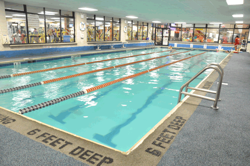 Olympic Style Lap Swimming Pool 4ft 6ft Deep Kept At 78 Degrees For Your Comfort Yelp