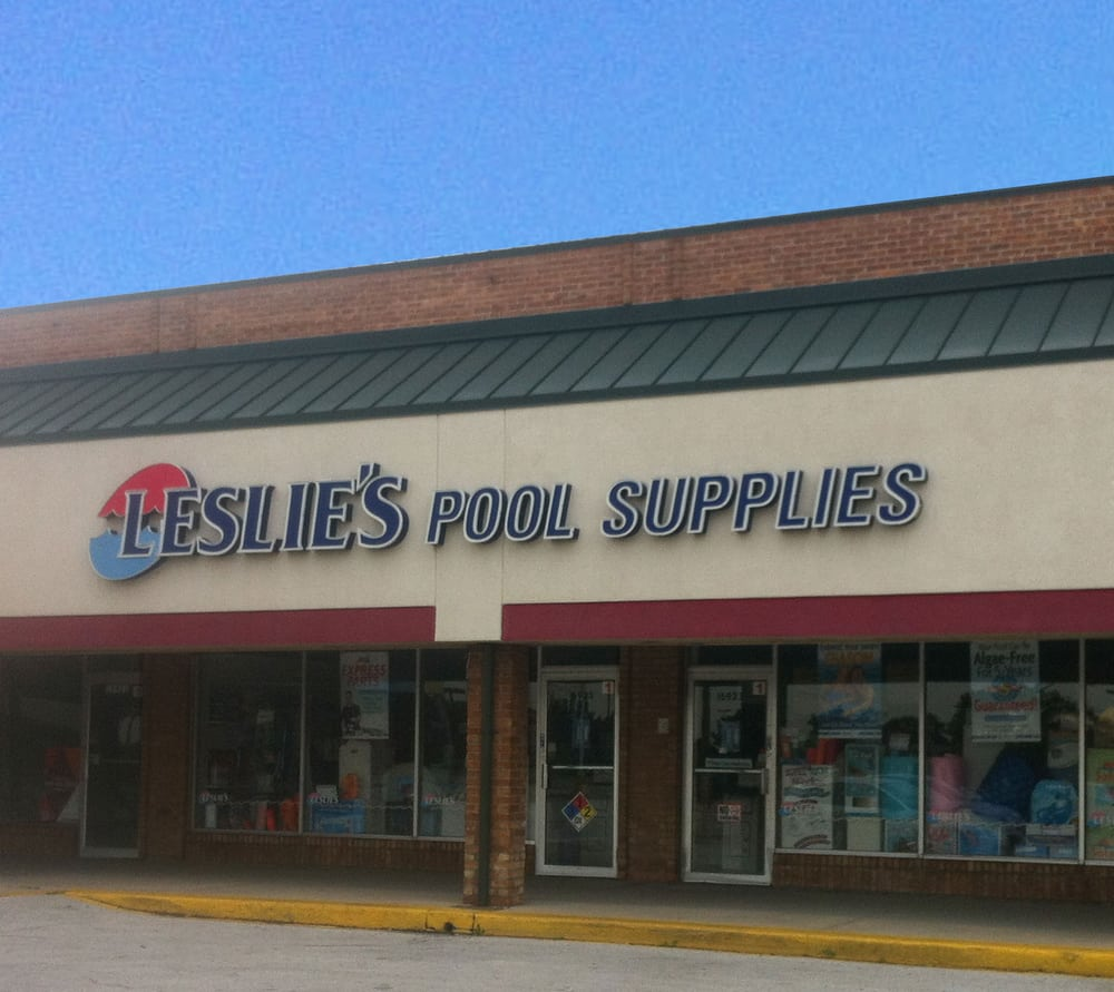 Leslie s swimming pool supplies hot tub pool tinley - Swimming pool chemicals suppliers ...