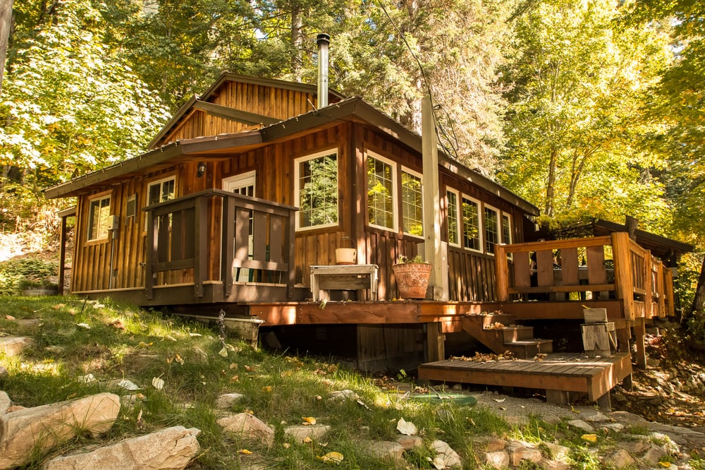 Der tree haus yelp for Washington state cabins for rent