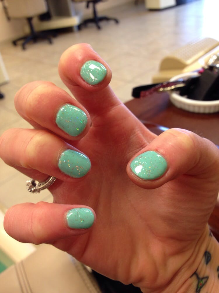Sea green shellac all natural this time yelp for 4 seasons nail salon