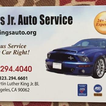King jr auto service 11 photos garages exposition for Park place motors service