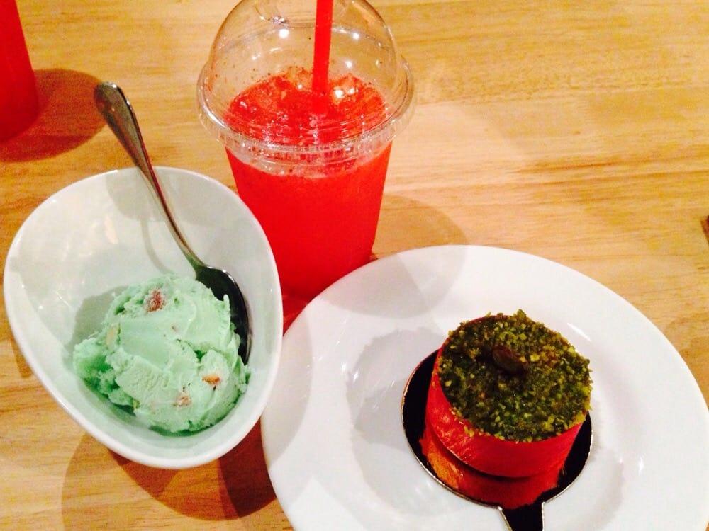 Strawberry And Pistachio Ice-Cream Cake Recipes — Dishmaps