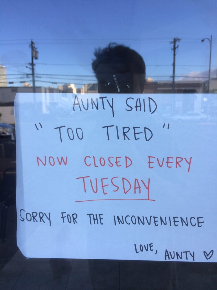 Aunty Ramen - Honolulu, HI, United States. Aunty Says