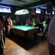 The Wreck Room - San Francisco, CA, États-Unis. Pool table.