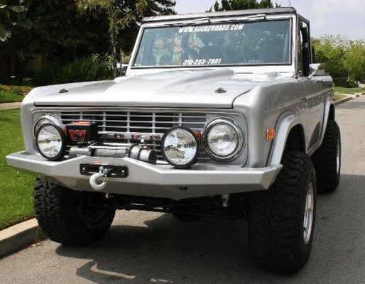 Custom Bronco Bumpers Bumper in The Early Bronco