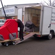 Grand piano removal from Hansons…