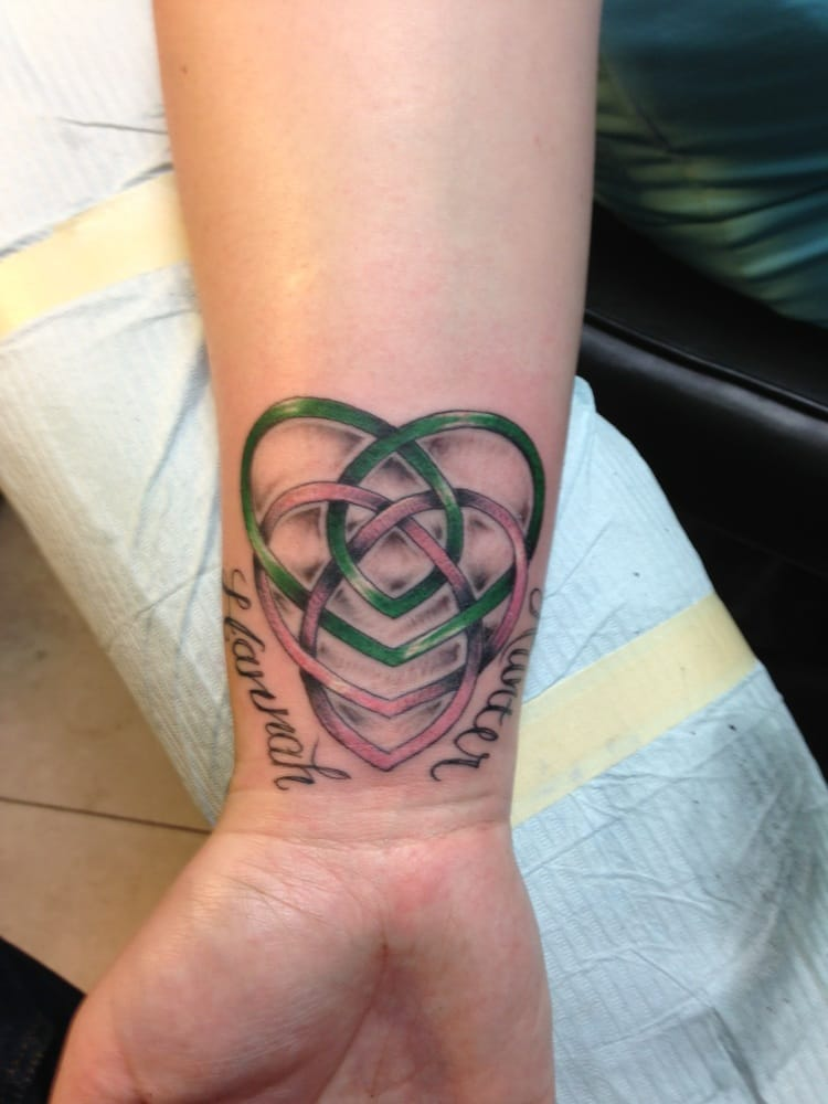 Mother Knot Tattoo Designs