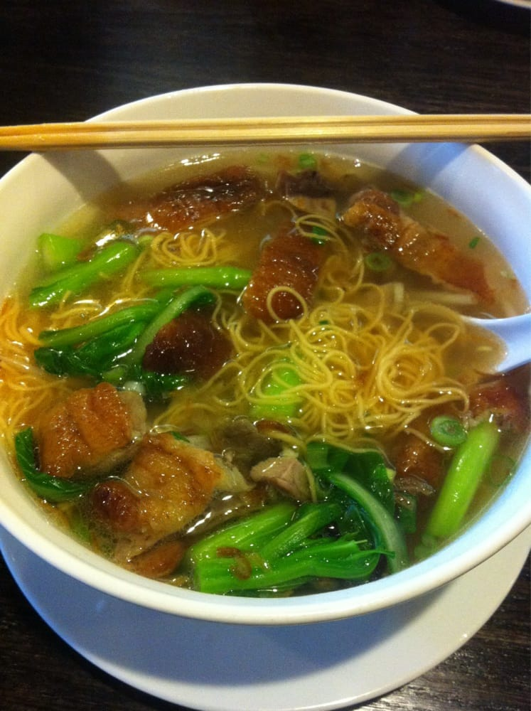 College Park (MD) United States  city pictures gallery : Ivy Noodles College Park, MD, United States. Roast Duck soup with ...