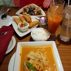 Champa Garden Rode Curry Curry Pops En Aubergine Met