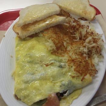All Star Burgers - Veggie omelet - Newark, CA, United States