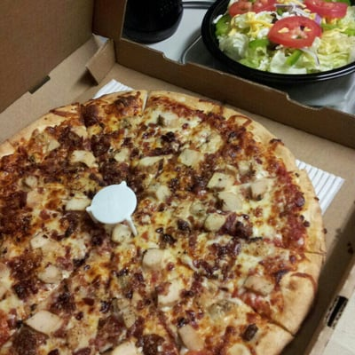 Today I ordered two pizza's from Pizza Guys for the first time. They claimed that their small feeds two people. It was actually individual sized, but them stating that allowed them to charge 12$ for it/5(28).
