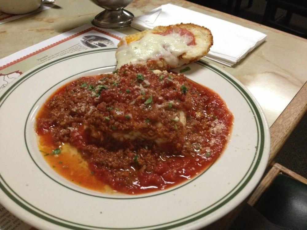 Nucci S Italian Cafe Pizza Vista Ca