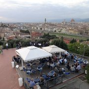 View from Piazzale Michelangelo right…