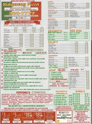 Ridgeway pizza yelp for Elite motors stamford ct