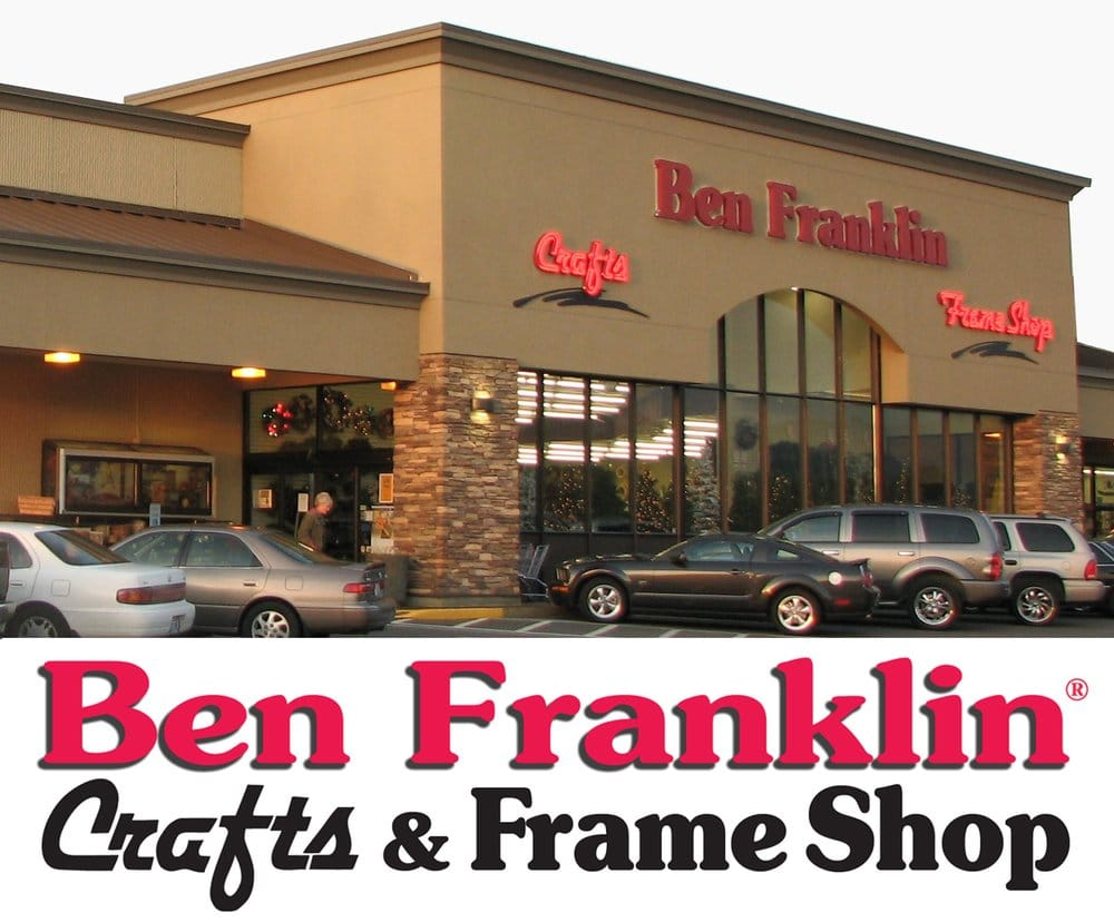 Ben franklin crafts frame shop art supplies monroe for Arts and crafts stores near my location