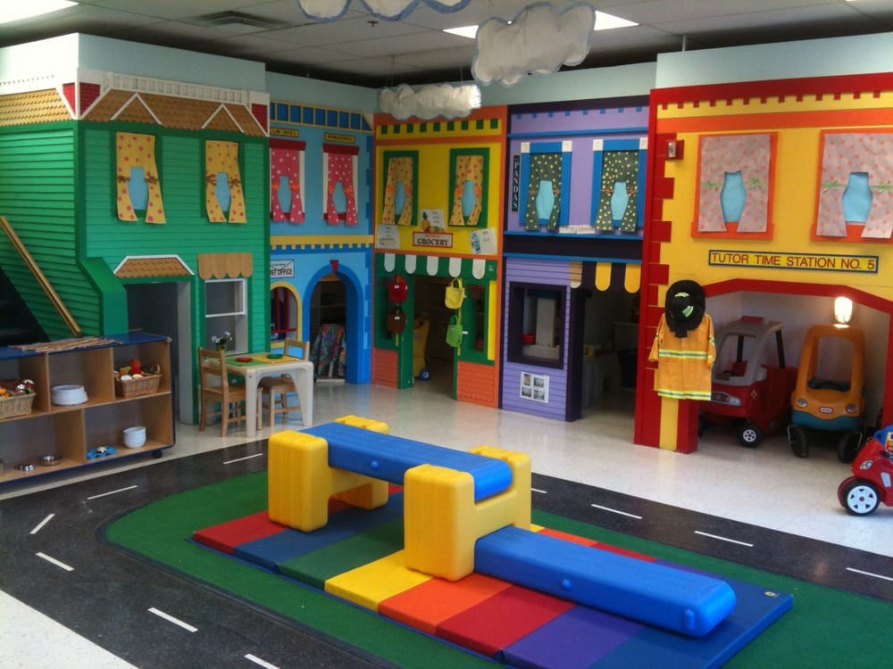Tutor time child care day care college point for Inside play areas