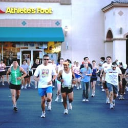 Athletes Foot Shoe Store - YouTube