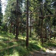 Kletterwald Garmisch-Partenkirchen, Garmisch-Partenkirchen, Bayern