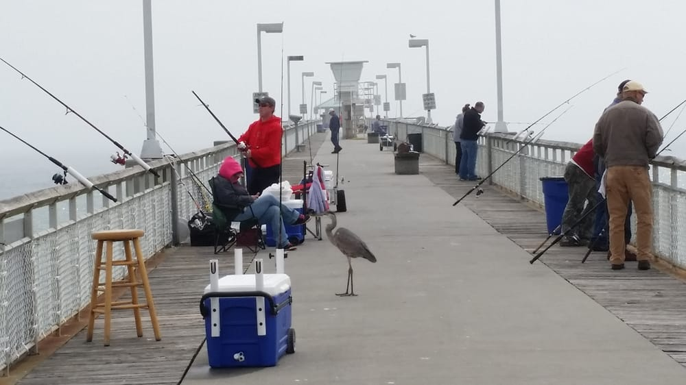 Okaloosa island pier 16 photos fishing fort walton for Public fishing near me