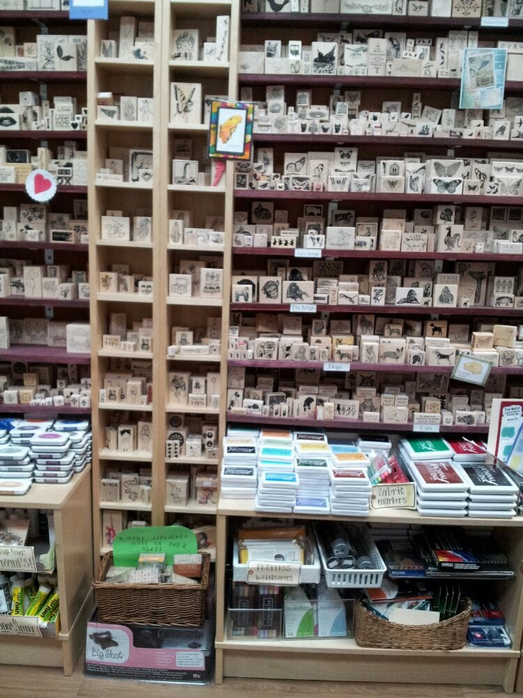 The ink pad art supplies west village new york ny for Craft stores in nyc