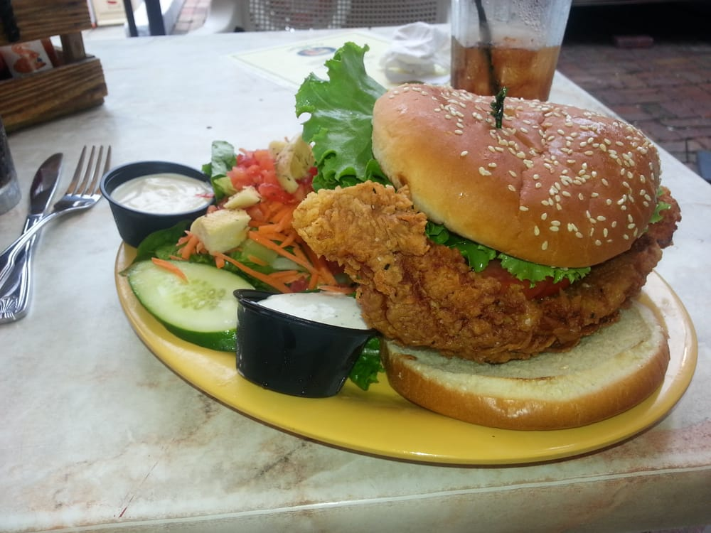 Caroline s 281 photos traditional american restaurants for Good fish sandwich near me