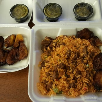 Waiter's Bar & Grill - San Juan, Puerto Rico, Puerto Rico. Skirt steak con arroz with extra hot sauce and plaintains. Delicioussss and convenient for condado vanderbilt guests!!