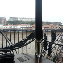A view from the bar.