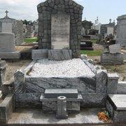 Greenwood Cemetery & Mausoleum - La Nouvelle-Orléans, LA, États-Unis. Flanagan tomb.