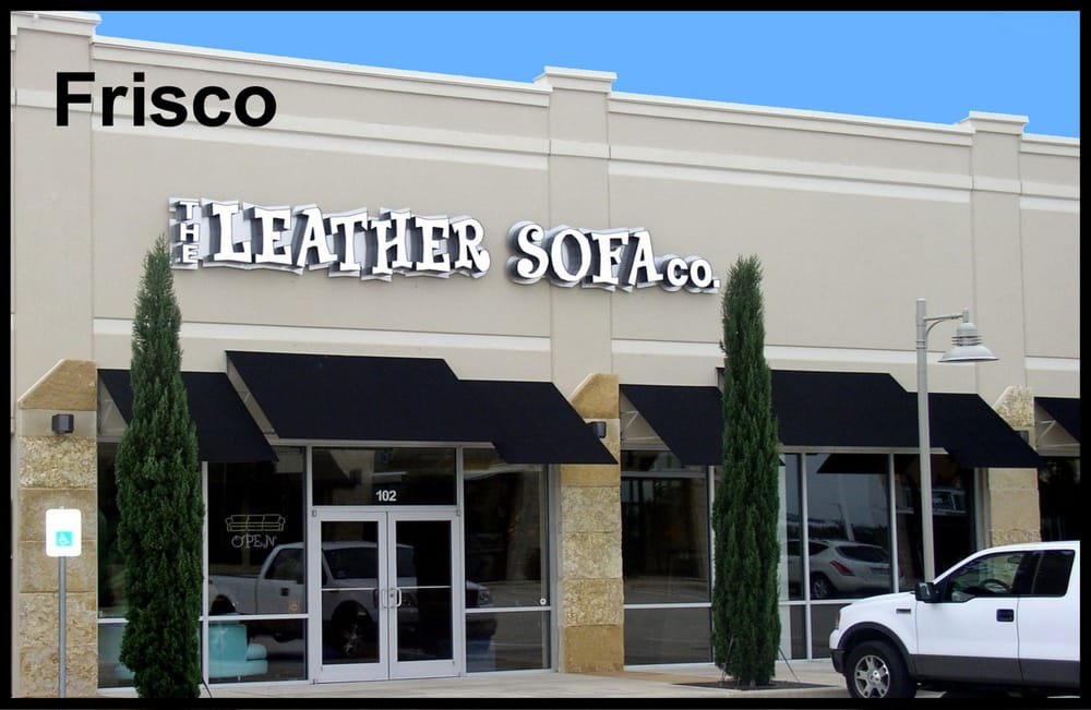 The leather sofa co leather shops frisco tx united for Home furniture 75034