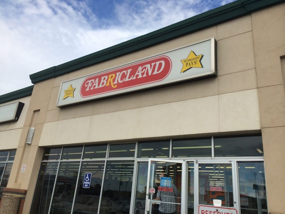 Fabricland Fabric Stores Edmonton Ab Canada Reviews Photos Yelp