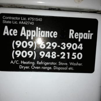 Ace Appliance Repair Service 38 Reviews Home Services