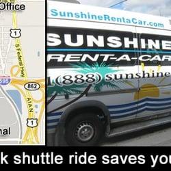Sunshine Rental Car Fort Lauderdale Reviews