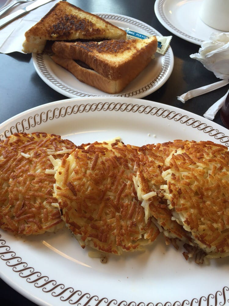 Waffle House Hash Browns All The Way Waffle House Quad Hash