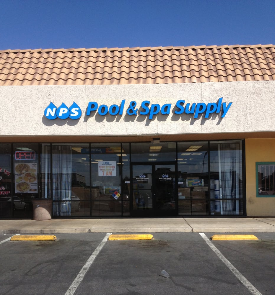 Nps pool spa supply hot tub pool las vegas nv for Pool show las vegas november