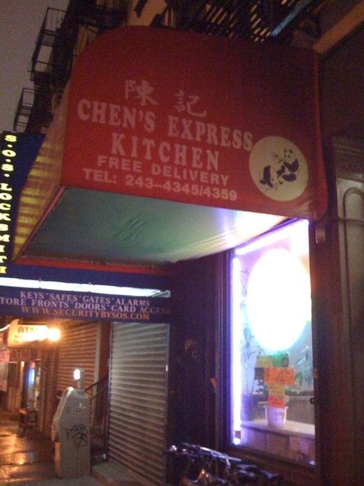 Chen's Express Kitchen Chinese Restaurants Chelsea