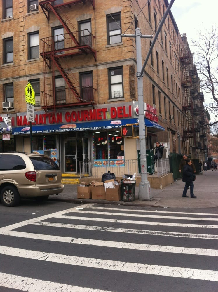 manhattan gourmet deli delis washington heights new york ny