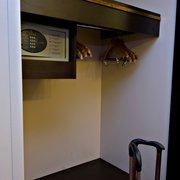 Tiny closet & safe