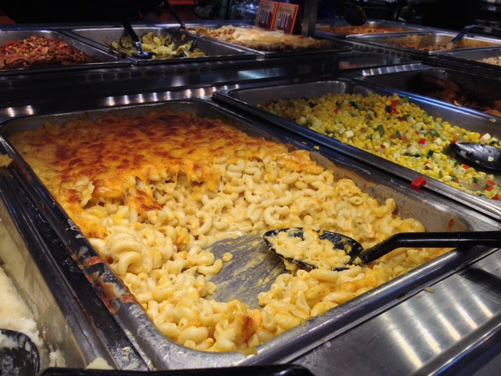 Hot bar i 39 ve always been hooked on their mac cheese for Food bar whole foods