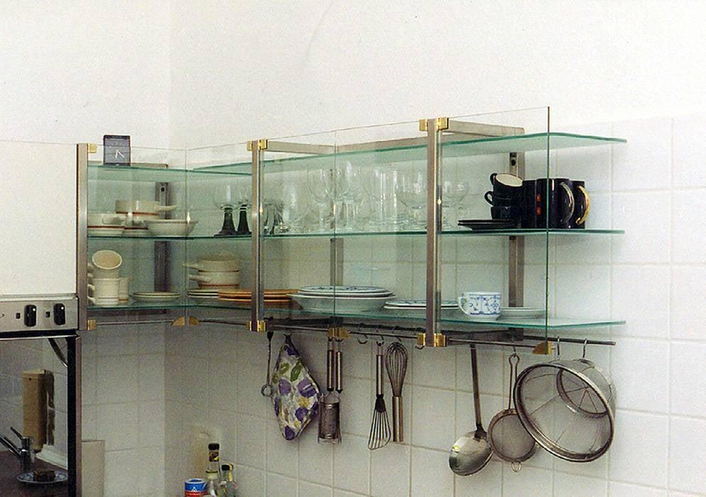 k chenoberschr nke in edelstahl messing glas yelp. Black Bedroom Furniture Sets. Home Design Ideas