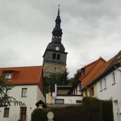 Schiefer Turm von Bad Frankenhausen /…