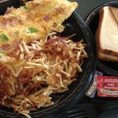Steele Creek Cafe - Western with hash browns - Charlotte, NC, Vereinigte Staaten